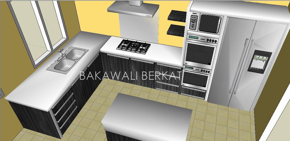 Kos Ubahsuai Dapur Rumah Teres Desainrumahid