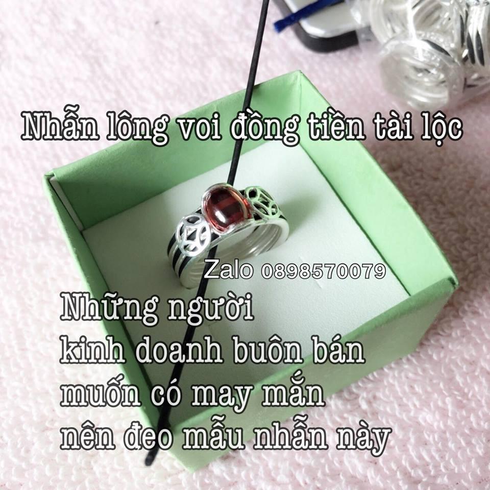 Giới thiệu mẫu nhẫn lông voi cho nữ đẹp xịn tại shop Đẹp Như Trang
