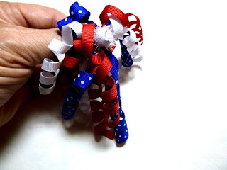 Fireworks dog bow