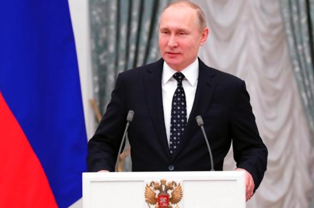 Did Donald Trump's predecessors congratulate Vladimir Putin's election win?