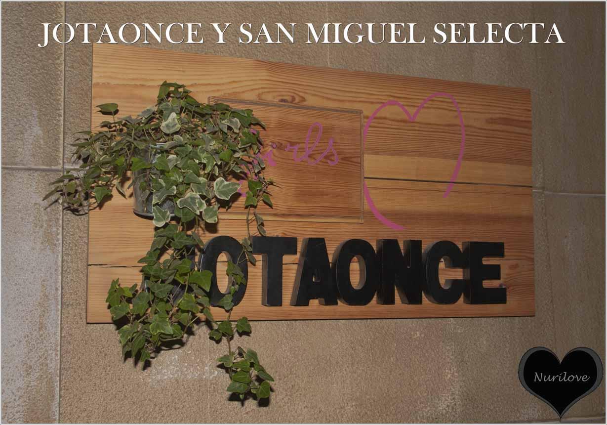 Jotaonce nos presenta su nueva colección de la mano de San Miguel Selecta