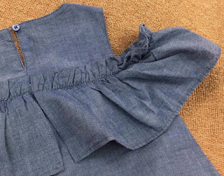 Đầm rớt vai bèo ngực Kate thô bé gái. Cat & Jack. Size 4-16T. VN xuất xịn,