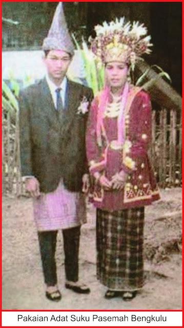 gambar pakaian adat suku pasemah bengkulu