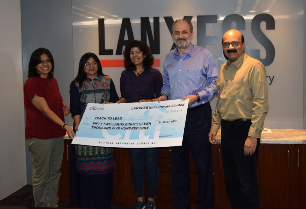 LANXESS demonstrates its commitment for Quality Education with its