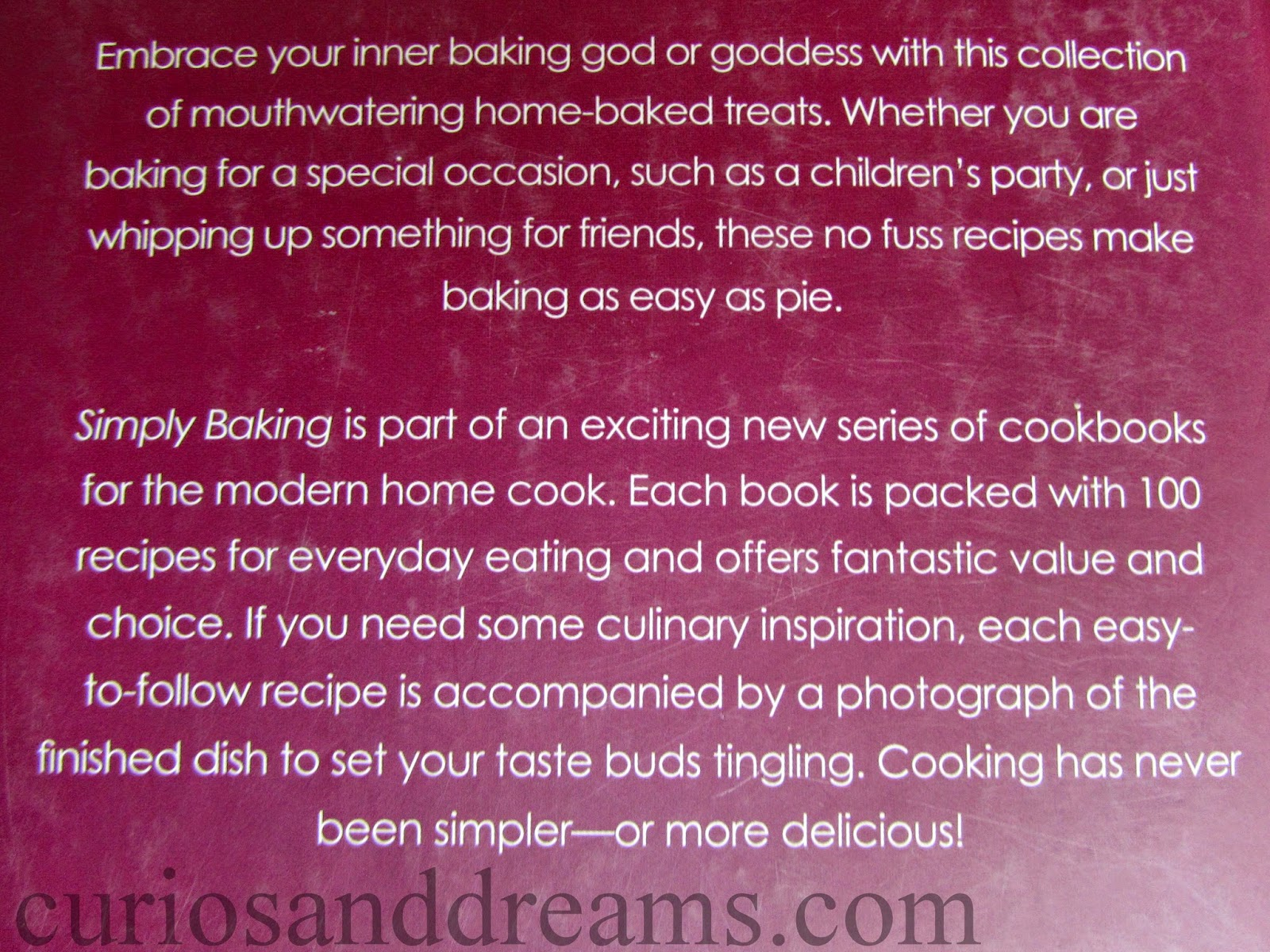 Simply Baking, Simply Baking book, Simply Baking book review