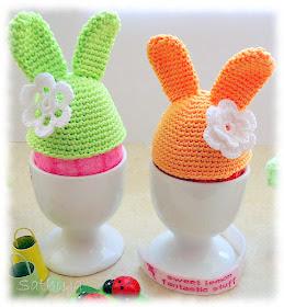 Easter egg cozy Crochet pattern