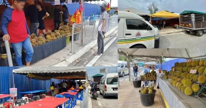 """""""Sudah bantu berniaga, kenapa rosakkan harta benda awam?"""" - DBKL saman penjual durian potong pagar keselamatan"""