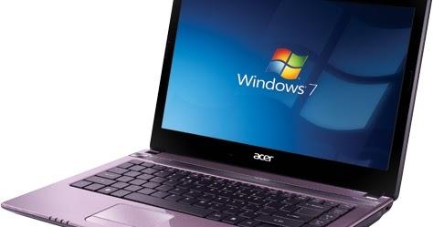 Acer aspire v3 recovery windows 7