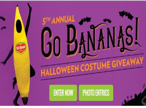 Del Monte Halloween Costume Giveaway