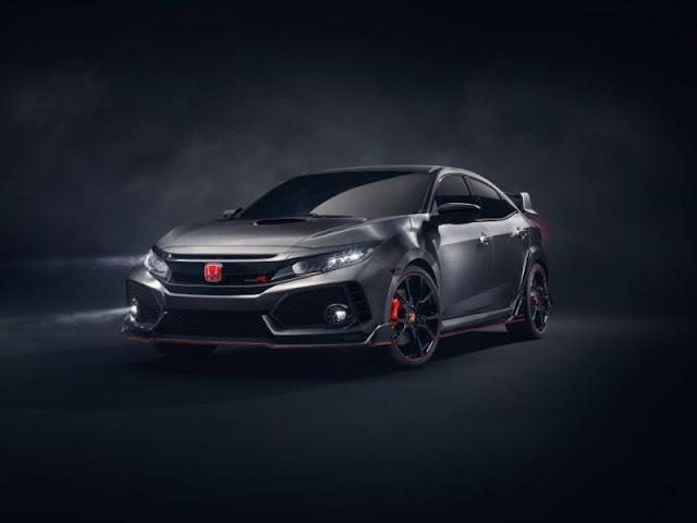 Prototype Honda Ciciv Type R 2017