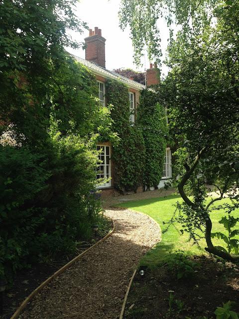 Summer gardens at The Grove, Cromer