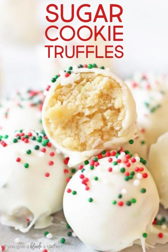 Christmas Sugar Cookie Truffles | Rahasia Masak