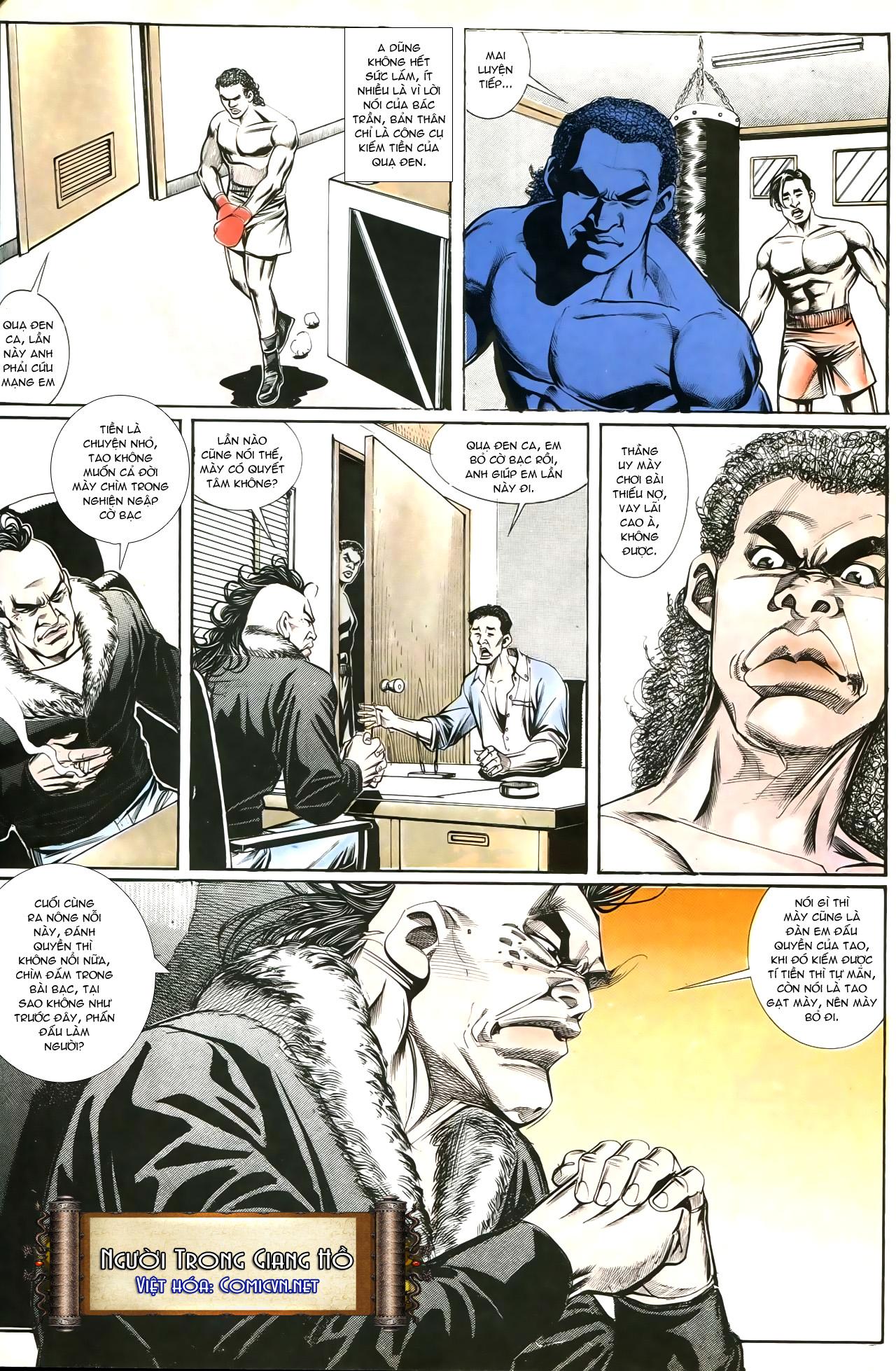 Người Trong Giang Hồ chapter 193: mưu kế đầy bụng trang 15
