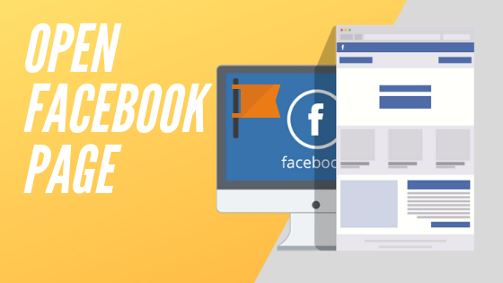 How To Open Page On Facebook<br/>