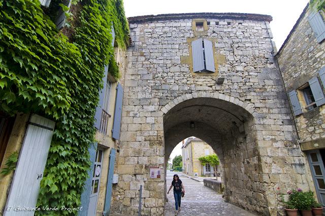 Entrada a la Bastida de Monpazier - Dordoña Perigord por El Guisante Verde Project