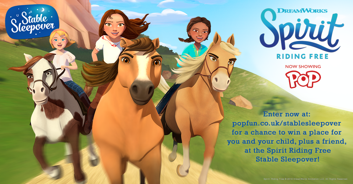 The Spirit Riding Free Stable Sleepover Competition