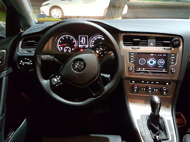 VW Golf 1.6 Automático 2016 - interior - painel