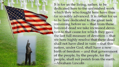 Happy Memorial Day 2016: it is for us the living, rather, to be dedicated here to the unfinished work which