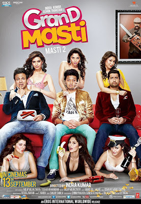 Grand Masti 2013 Hindi 720p HDRip 950MB