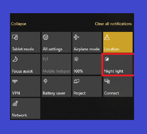How to Activate and Set Nightlight on Windows 10 [2019]
