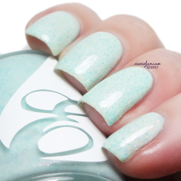 xoxoJen's swatch of Envy Seafoamin' Around