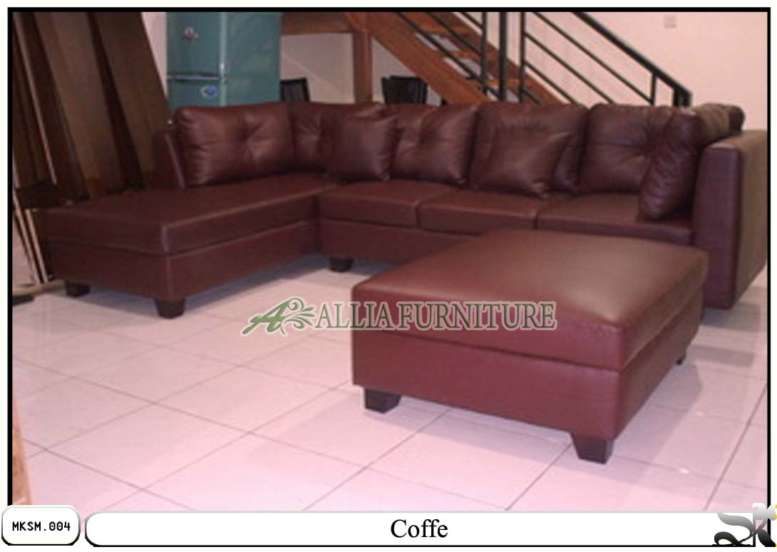 Kursi Sofa Minimalis Set Model Coffe Allia Furniture