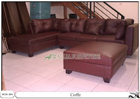 Kursi sofa minimalis set model coffe