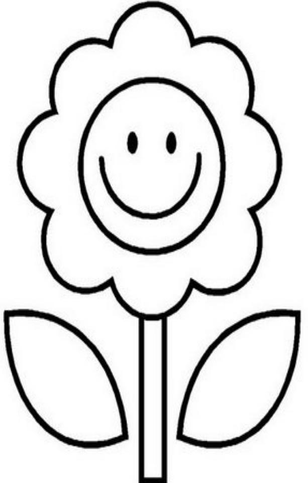 Flor para pintar