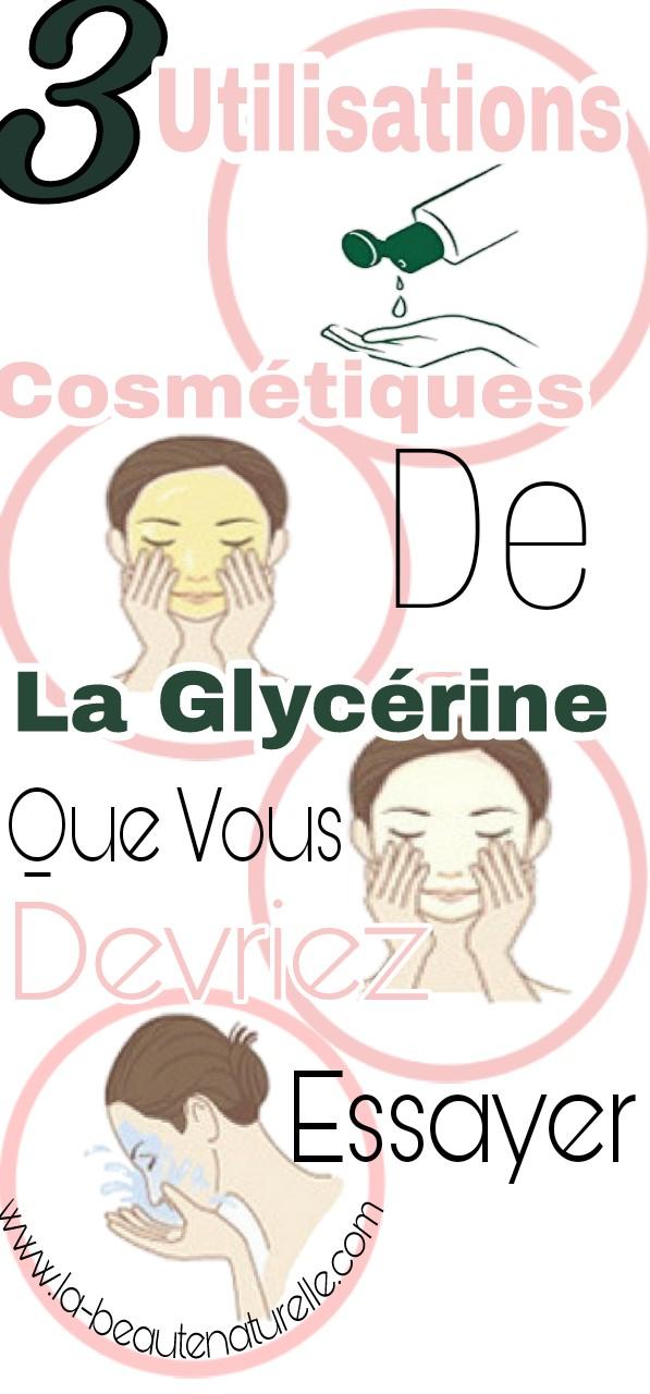 3 utilisations cosmétiques de la glycérine que vous devriez essayer