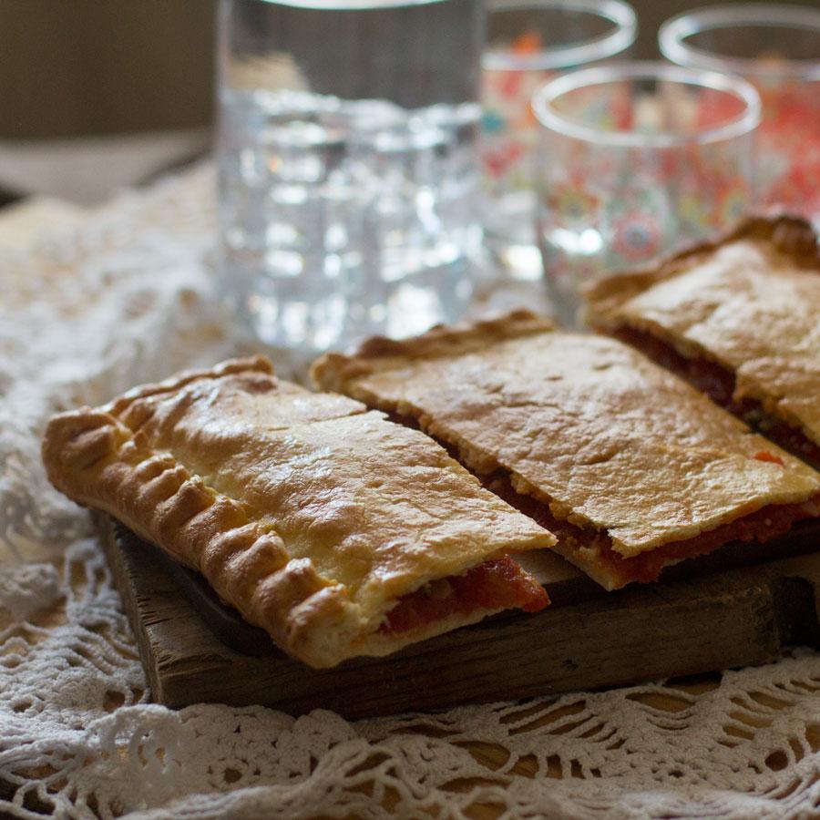 receta de empanada de berberechos elaborada con thermomix