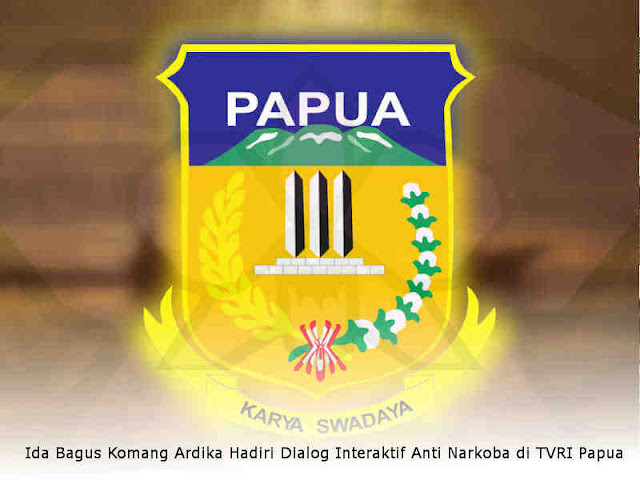 Ida Bagus Komang Ardika Hadiri Dialog Interaktif TVRI Papua, Mencerdaskan Bangsa Tanpa Narkoba