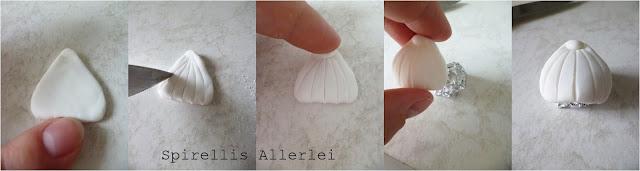 Spirellis Allerlei - Herstellung Muscheln aus Fondant