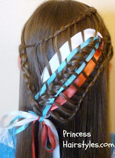 Fourth of July hairstyle