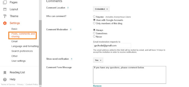 Blogspot-comment-settings