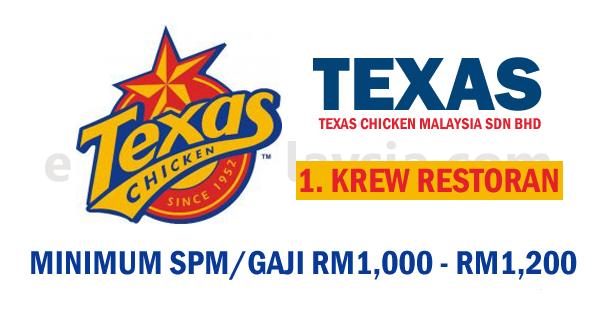 Texas Chicken Malaysia Sdn Bhd