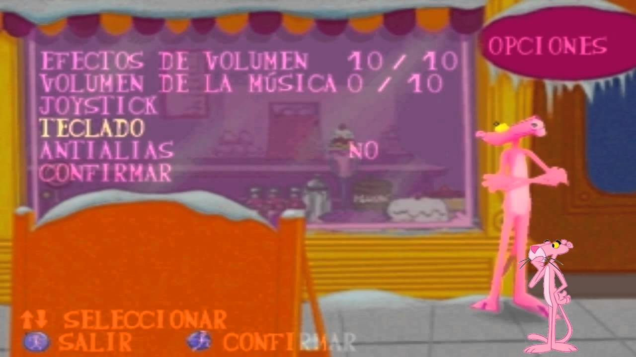 Download Game Pink Panther - Pinkadelic Pursuit ISO for PC - Game Tegal