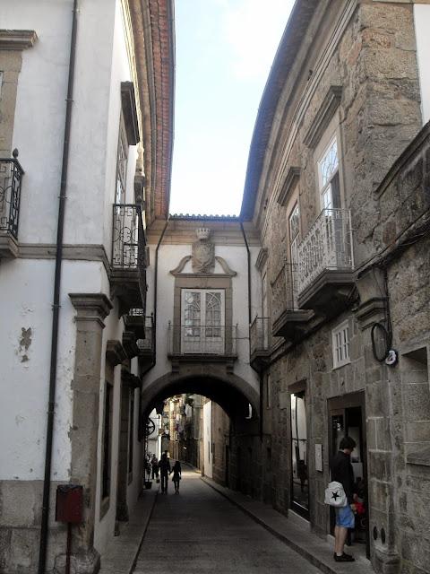 calles históricas de Guimaraes