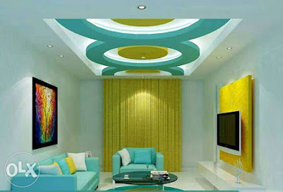 Modern living room wall paint colors combinations ideas 2019
