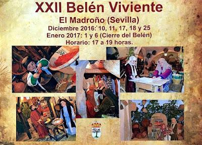Belén Viviente de El Madroño (Sevilla) 2016