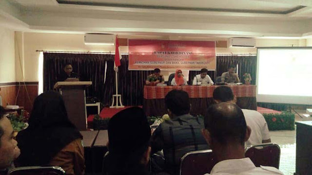 Pilgub Sulsel, Panwaslu Bersama Stakeholder Gelar Rapat Koordinasi