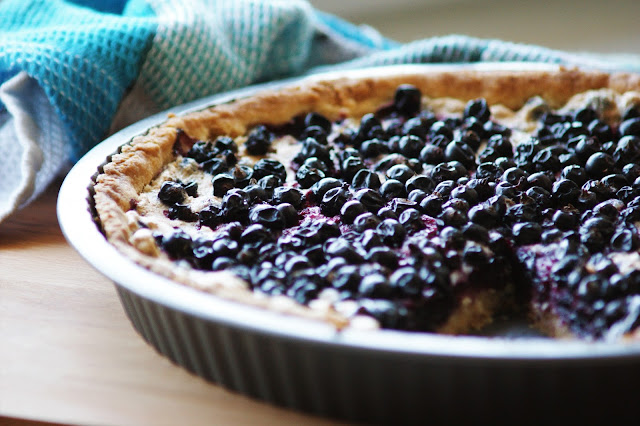 Blackcurrant Meringue Pie