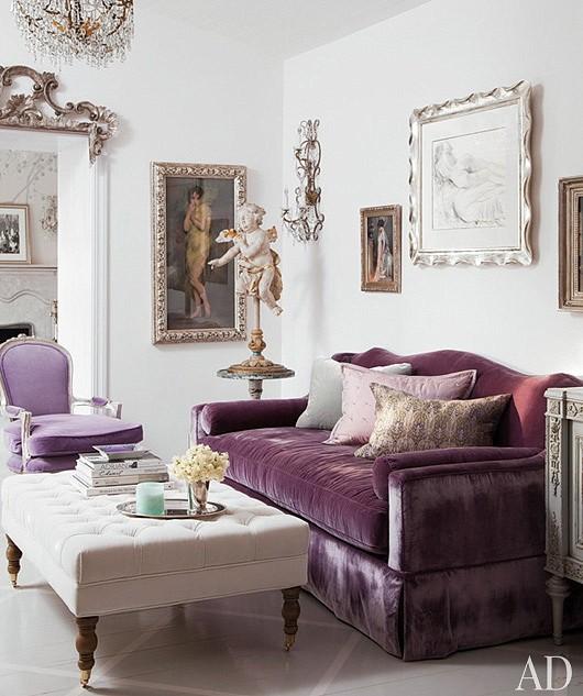 Lee Caroline A World Of Inspiration Lilac Inspiration My Living Room Laura Ashley