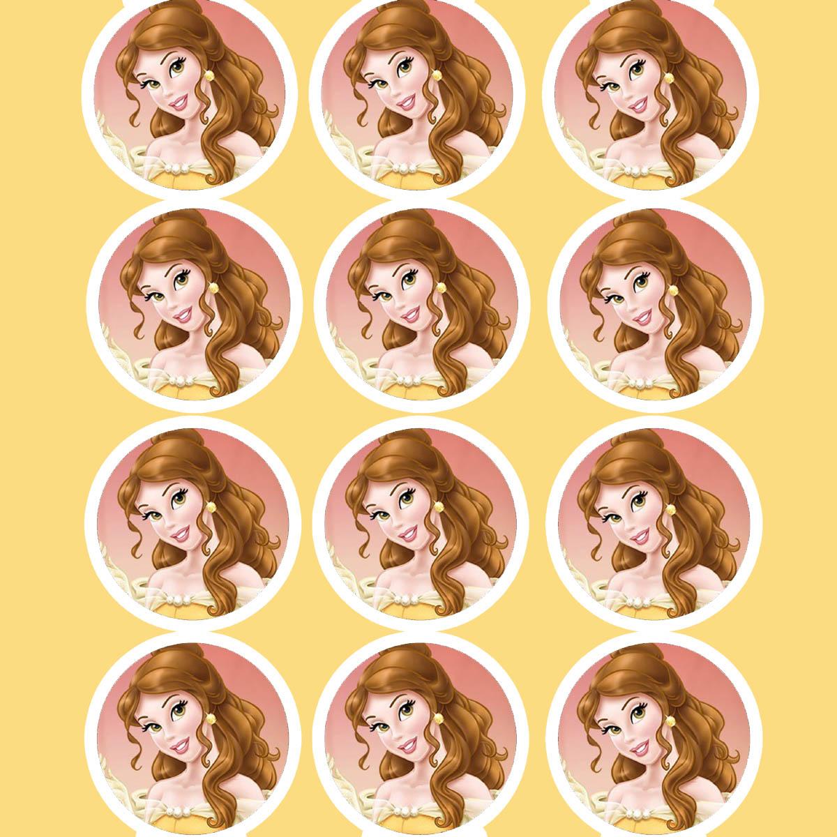 Disney Princess Birthday Party Printable Files Daisy Celebrates