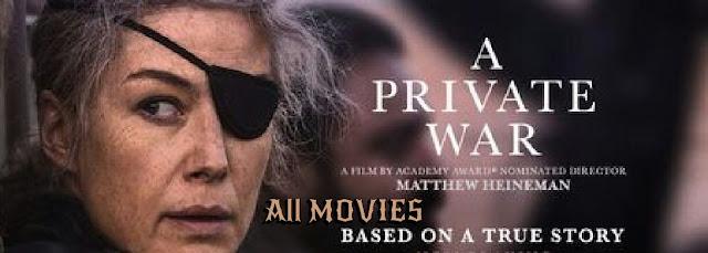 Private War Movie pic