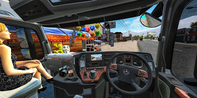 mod bussid canter actros