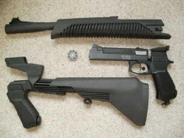 canada airgun freak: Baikal MP-651K Co2 semi-automatic 4 5mm