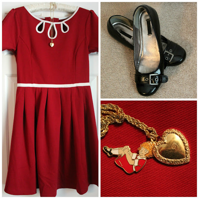 Little Orphan Annie Costume Collage