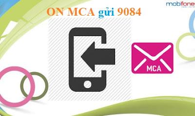 Cú pháp đăng ký dịch vụ MCA Mobifone