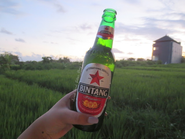Bintang beside Rice Farm