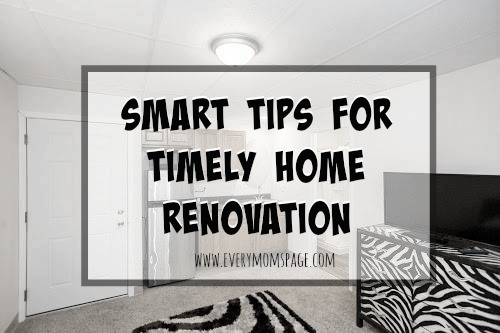 Smart Tips for Timely Home Renovation